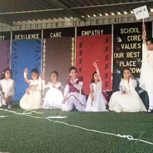 Grade 1 Performing on Arabic Poem